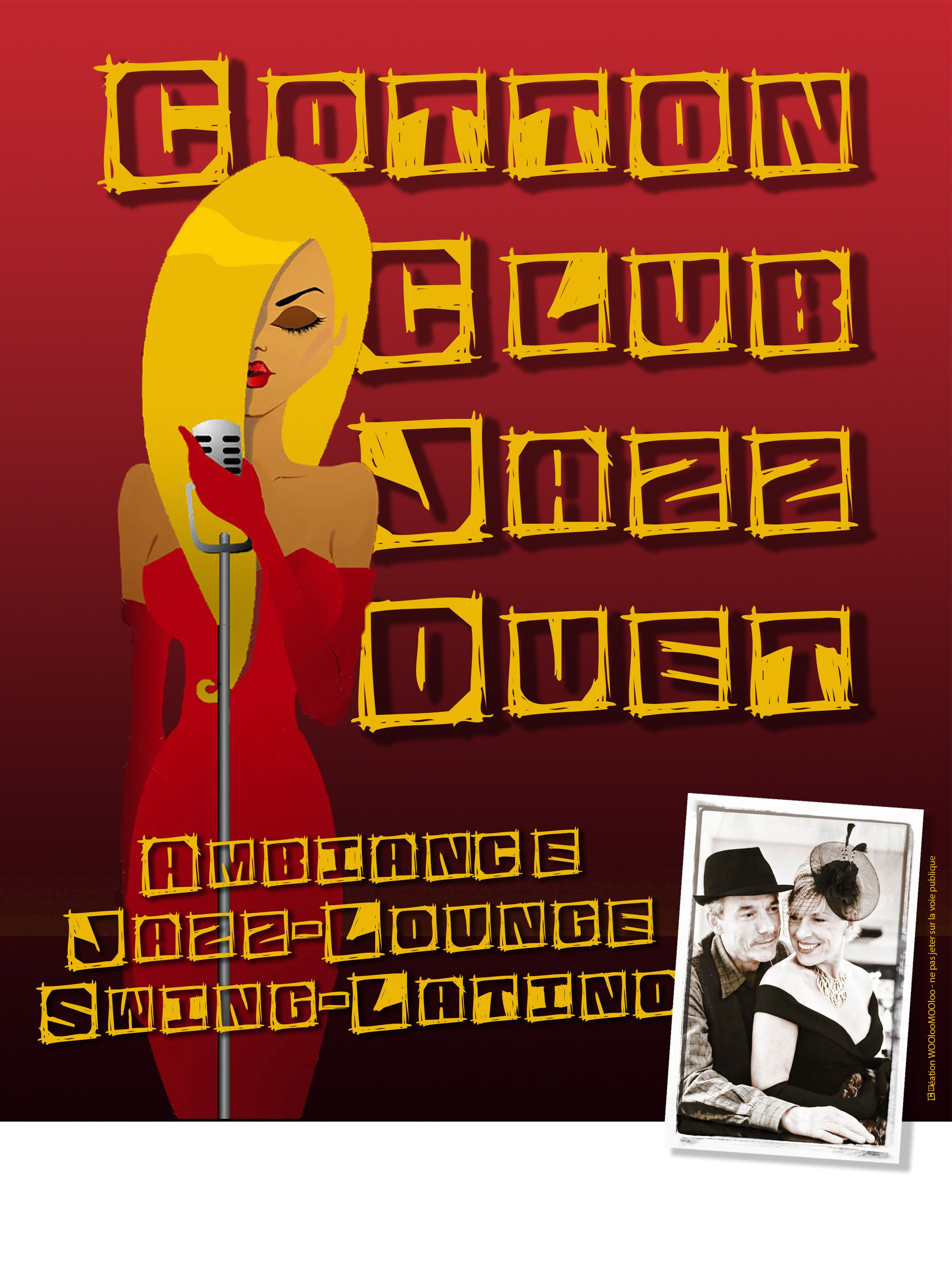 Affiche, Cotton Club Jazz Duet